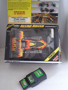 (1998) TMH FlexPak <TYCO R/C NITRO BULLDOZER CAR 49MHz> Black/Yellow w/ Box