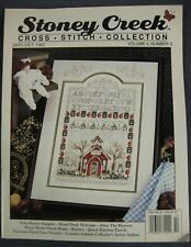 Stoney Creek Magazine Vol 4 Number 5 Sep/Oct 1992 Counted Cross Stitch Patterns