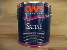 €11,98 L/ 2,5 L CWS Satine weiß,seidenglänzender,aromatenfreier Premium Lack