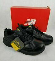 New Balance MID626K2 Men's Slip Resistant 626v2 Black Leather Work Shoes