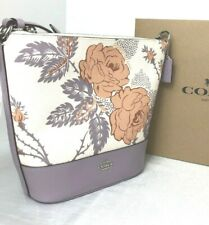 Coach  SMALL PAXTON DUFFLE WITH THORN ROSES PRINT F76670 New