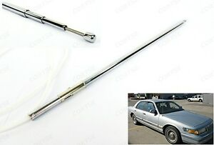 Power Antenna Mast OEM Replacement For Mercury 92-97 Grand Marquis 92-95 Sable