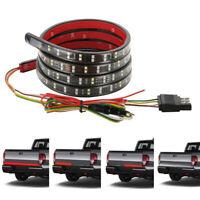 60inch 2-Row LED Reverse Brake Signal Tailgate Light Strip Bar for Pickup Trucks