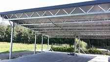 Carport Überdachung mit Sandwichdachelementen 30/70 (1 m²)