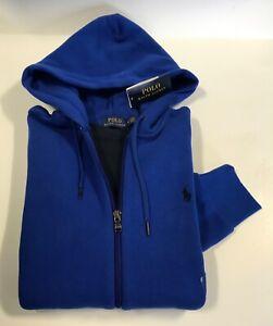 Polo Ralph Lauren Fleece Full Zip Hoodie Mens Jumper Sweatshirt Medium