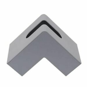 Nordic Right Angle Desktop Paper Napkin Storage Case Kitchen Bedroom Tissue Box