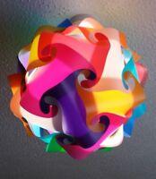 Multi Colour Rainbow Lampshade Kit DIY 30 Element - Various Sizes
