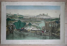 Vue d'optique de Lancastre (LANCASTER)  prise à l'aqueduc de Bridge circa 1800