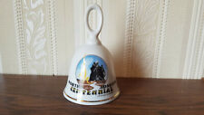 "1889-1989 North Dakota Centennial 4 1/2"" Porcelain Bell"