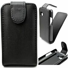 New Black Magnetic Flip PU Leather Case Cover For Samsung Galaxy Young 2 SM-G130