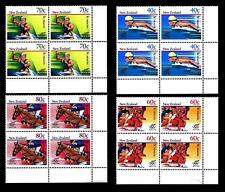 NEW ZEALAND - NUOVA ZELANDA - 1988 - Pro opere per la sanità. Giochi olimpici