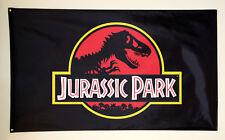 Jurassic Park Movie Dinosaur High Quality Advertising Decoration Garage Flag 3x5