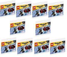X10 Lego BATMAN IN THE PHANTOM ZONE Polybag 30522 Figure Joblot Bundle