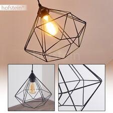 Lampe à suspension noire Luminaire Retro Lustre Plafonnier Lampe pendante Design