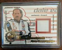 Dale Earnhardt Authentic Firesuit Press Pass Race Used Card 106/130 Certified