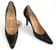 GIUSEPPE ZANOTTI - Escarpins Glamour talons 9 cm tout cuir noir 37.5 - NEUF