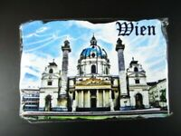 Vienne Karlskirche Autriche Poly Aimant Gipsoptik Souvenir, Neuf