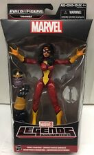 "Marvel Legends Infinite Series 6""Action Figure Spider-woman BAF Thanos"