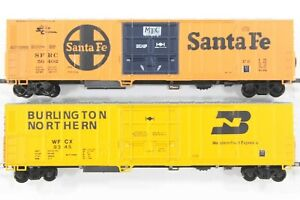 HO 2 Athearn BNSF Heritage (BN / ATSF) 57ft Mechanical Refrigerator Cars