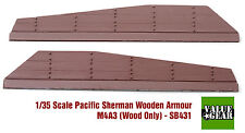 1/35 Pacific Sherman Wood Plank Armor M4A3 Set #1 - Value Gear Stowage SB431
