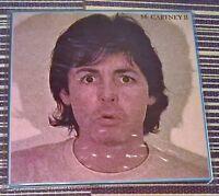 Paul McCartney McCartney II Vinyl LP Record 33RPM 1980 PCTC 258 1st Press Rock