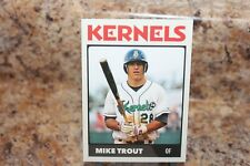 2009 KERNELS MIKE TROUT ROOKIE CARD# 28