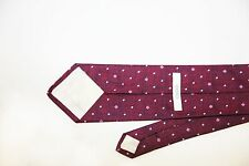 Versace Collection Pink/Purple Geometric Pattern100% Heavy Silk Tie, NEW, $225