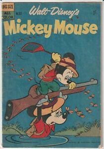 "Australian Walt Disney Comic M.32 ""Mickey Mouse"" W. G. Publications 1959"