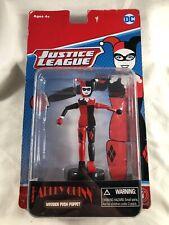 DC Comics Justice League Harley Quinn Wooden Push Puppet