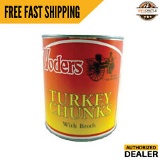Yoders Canned Turkey Chunks 28oz single Can  Food Storage  Emergency Supply
