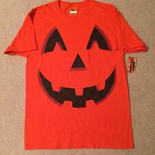 PUMPKIN pie Jack-O-Lantern HALLOWEEN candy MEN'S New COSTUME orange T-Shirt