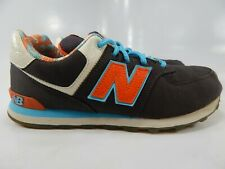 New Balance 574 Size 6 M (Y) EU 38.5 Youth Big Kid's Running Shoes Grey KL574I2G