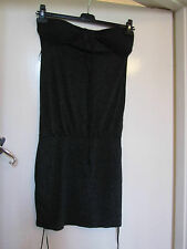 New Look Black & Silver Sparkly Stretch Dress in Size 10 - NWT