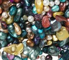 50+Pc.LOT~REAL PEARLS AWESOME Shapes&Sizes BRILLIANT Colors! U.S SELLER~FAST S&H