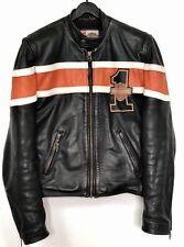 Harley Davidson Lederjacke Motorradjacke Victory Lane Cafe Racer Leather Jacket
