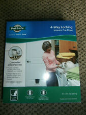 "PetSafe 4-Way Locking Interior Cat Door 5 1/2"" x 6 1/8"" Flap Opening"