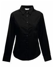 Camisas y tops de mujer de manga larga color principal negro talla M