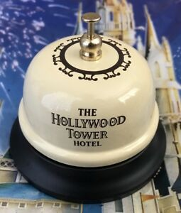 Tower Of Terror Hotel Front Desk Bell Disney Hollywood Studios Twilight Zone