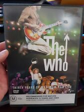 The Who - 30 Years of Maximum R&B Live - MUSIC DVD - FREE POST
