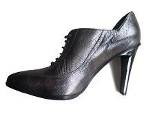 Giorgio Armani tacchi alti in pelle nera semplice ed elegante EU 36 US 6 UK 3