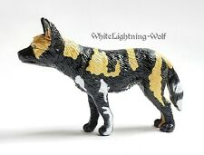 RARE 1996 PV Play Visions African Wild Dog Animal Figure COMBINE SHIP AVAILABLE