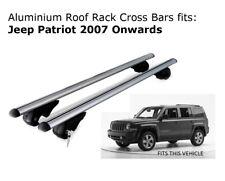 Aluminium Roof Rack Cross fits Jeep Patriot 2007 Onwards
