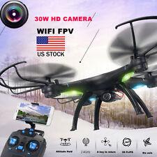 M39Gw 2.4G 6-axis 4Ch Hd Camera WiFi Fpv Gyro Altitude Hold Rc Quadcopter Rtf Us