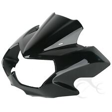 New ABS Vivid Black Upper Front Fairing Cowl Nose For Kawasaki Z750N 2004-2006