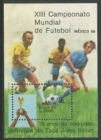 Brésil. 1985. Coupe Du Monde De Football Miniature Feuille SG: MS2175.