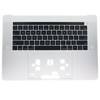"New Silver Top Case Palmrest & keyboard US For MacBook Pro A1707 15"" 2016 2017"
