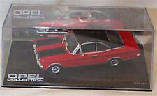 Opel Commodore A Coupe GS/E 1970s Red with black trim 1-43 scale  new in case