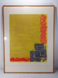 "JOHN HOYLAND (1934-2011) ""VIEW"" 46/50; 1979; Aquatint Etching ABSTRACT ART PRINT"