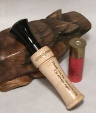 Personalized Single Reed Duck Call laser engraved with your special message
