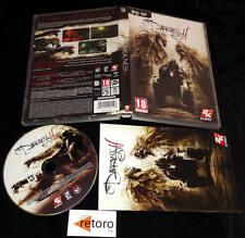 THE DARKNESS 2 II PC DVD Pal-España Español Muy Buen Estado Gran Juego
